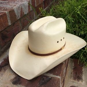 Stetson Men's Straw Cowboy Hat 7 1/4
